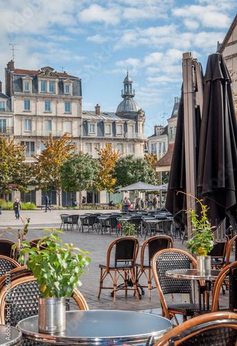 Troyes et ses façades à pans de bois Poster