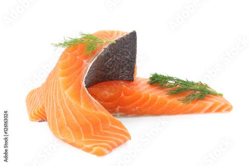 Papiers peints Steakhouse Filets de saumon sauvage
