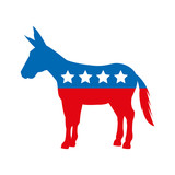 democrat party isolated icon vector illustration design - 126185485