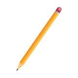 pencil school supply isolated icon vector illustration design