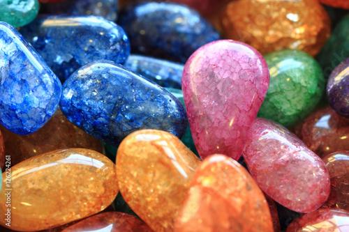 Fototapeta natural color gems background