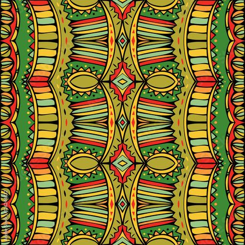 Cotton fabric Bright Boho Style Seamless Ornament