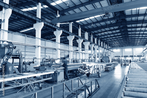 Aluminum alloy production workshop