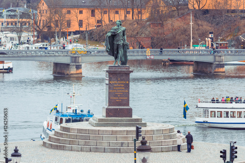 Keuken foto achterwand Antwerpen Stockholm city, Sweden. Stockholm Old Town Sweden