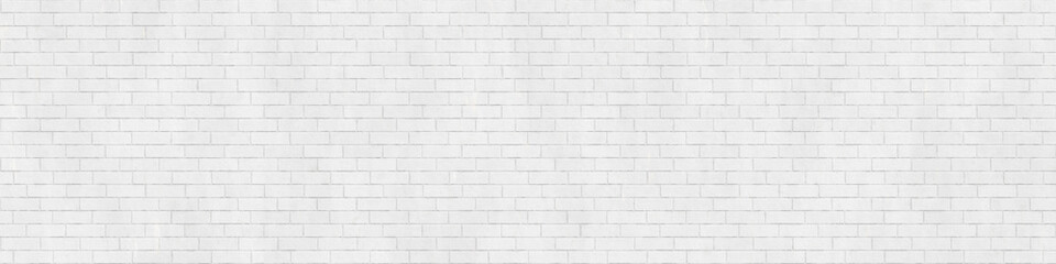 Background texture of white brick wall