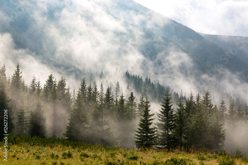 mystery scene in mountains - 126272206