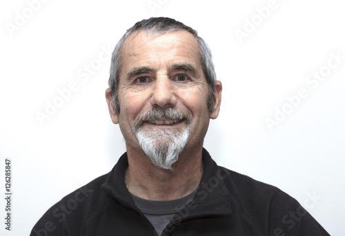 Poster old man wearing a beard