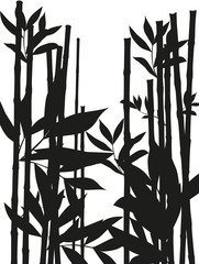 Bamboo forest big wallpaper to decor your business