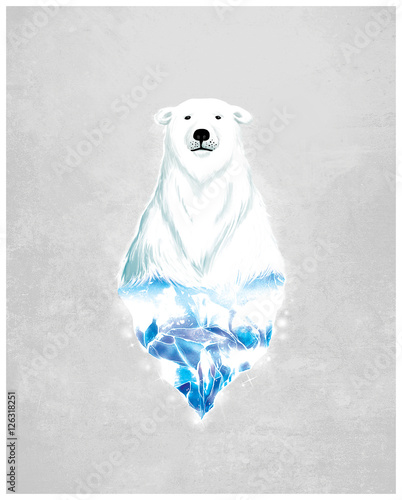 niedźwiedź polarny - 126318251