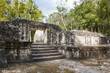 Ruins of the ancient Mayan city of Balamku, Mexico