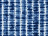 Tie-dye textile pattern in indigo blue. - 126324088