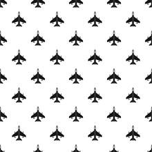 Fighter jet pattern. Simple illustration of fighter jet vector pattern for web
