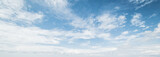 Sky and clouds tropical panorama