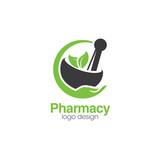Pharmacy Creative Concept Logo Design Template