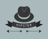 Hipster fashion lifestyle icon vector illustration graphic design