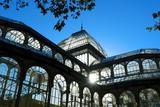 crystal palace of El Retiro park,Madrid