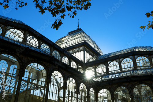 crystal palace of El Retiro park,Madrid