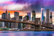 Quadro New York City Skyline