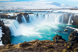 Goddafoss,the one of the most spectacular waterfalls in Iceland.