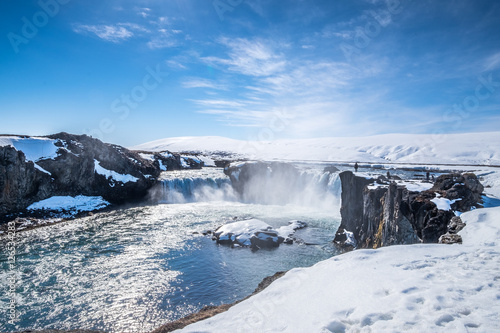 Godafoss ,the one of the most spectacular waterfalls in Iceland.