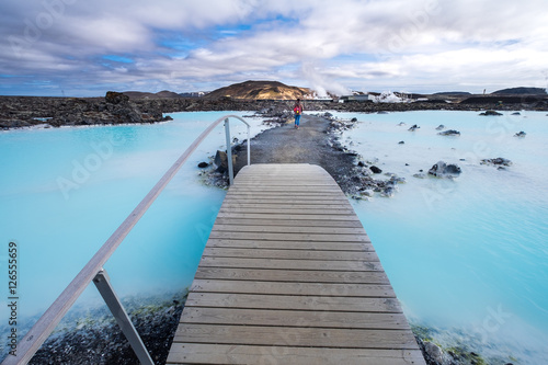 Geotermalne spa Blue Lagoon jest jedną z najczęściej odwiedzanych atrakcji na Islandii