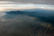 mountains near mexico city aerial view cityscape panorama