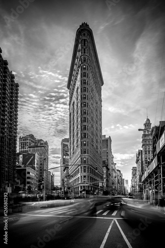Papiers peints New York TAXI Flatiron