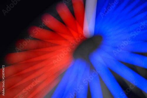 Fotografiet Abstract defocused bokeh lights background