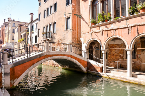 Cité de la ville italienne de Venise Poster