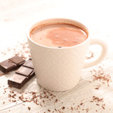 hot milk with chocolate
