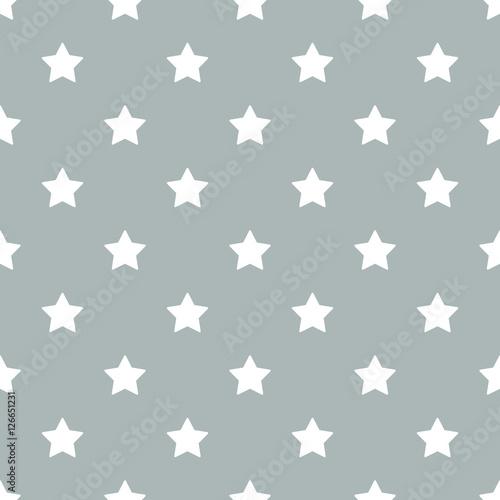 Materiał do szycia Wektor wzór gwiazdek bez szwu