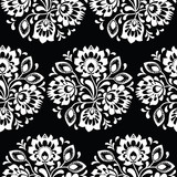 Seamless traditional floral Polish folk art pattern - 126651821