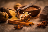 Baking ingredients and spices - 126694681