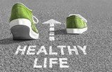 The way to a Healthy Life - 126701606