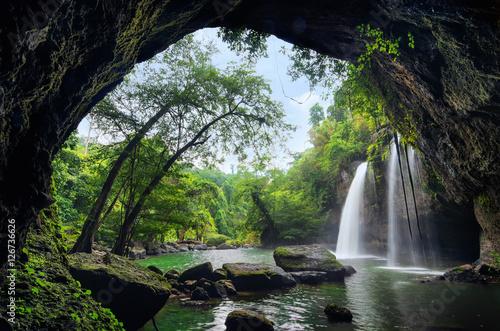 Heo Suwat Waterfall Poster