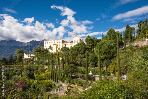 Giardini di Castel Trauttmanssdorff, Merano, Alto Adige, Italia Poster