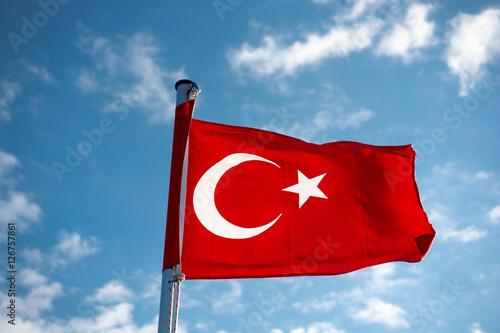 Turkish national flag Poster