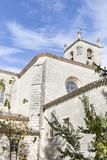 San Pedro de Cardeña monastery in Castrillo del Val, Burgos, Spain