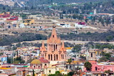 San Miguel de Allende, a colonial city in Mexicoâ??s central highlands, is known for its baroque Spanish architecture, thriving scene and cultural festivals. Gothic church Parroquia de San Miguel Arca