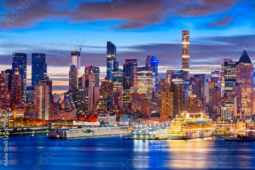 Foto op Aluminium New York Midtown Manhattan Skyline