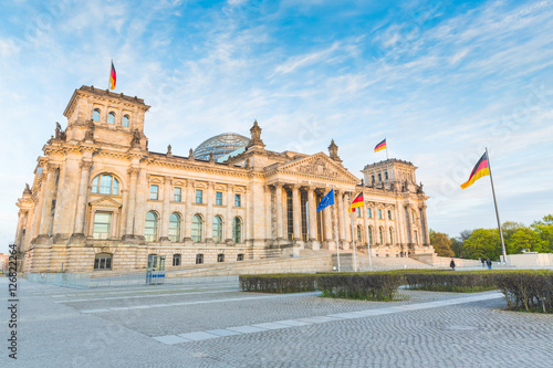German Reichstag, the parliament building in Berlin