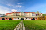 Royal Castle, a famous landmark in the Old Town of Warsaw, Poland. - 126824634