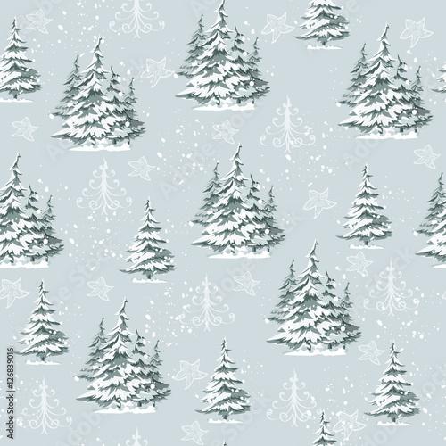 Materiał do szycia Vintage wzór Christmas gift wrap i tkaniny projektowania