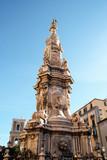 guglia dell'Immacolata, piazza del Gesù, Naples, Italy