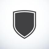 Vector shield icon - 126858284