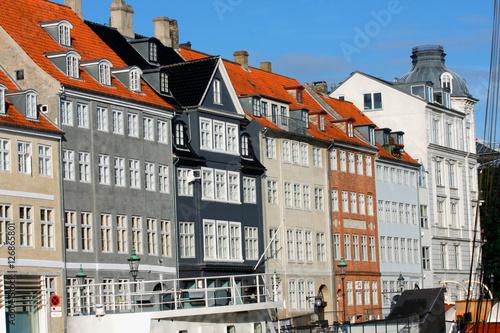 Plakát, Obraz Copenhagen Nyhavn colorful houses, Denmark.