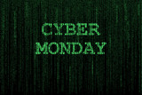 Cyber Monday background