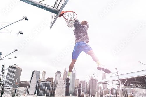 Poster Huge slam dunk