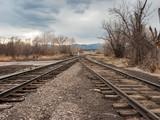 Converging Railroad Tracks 2