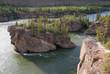 Five Finger Rapids on Yukon river